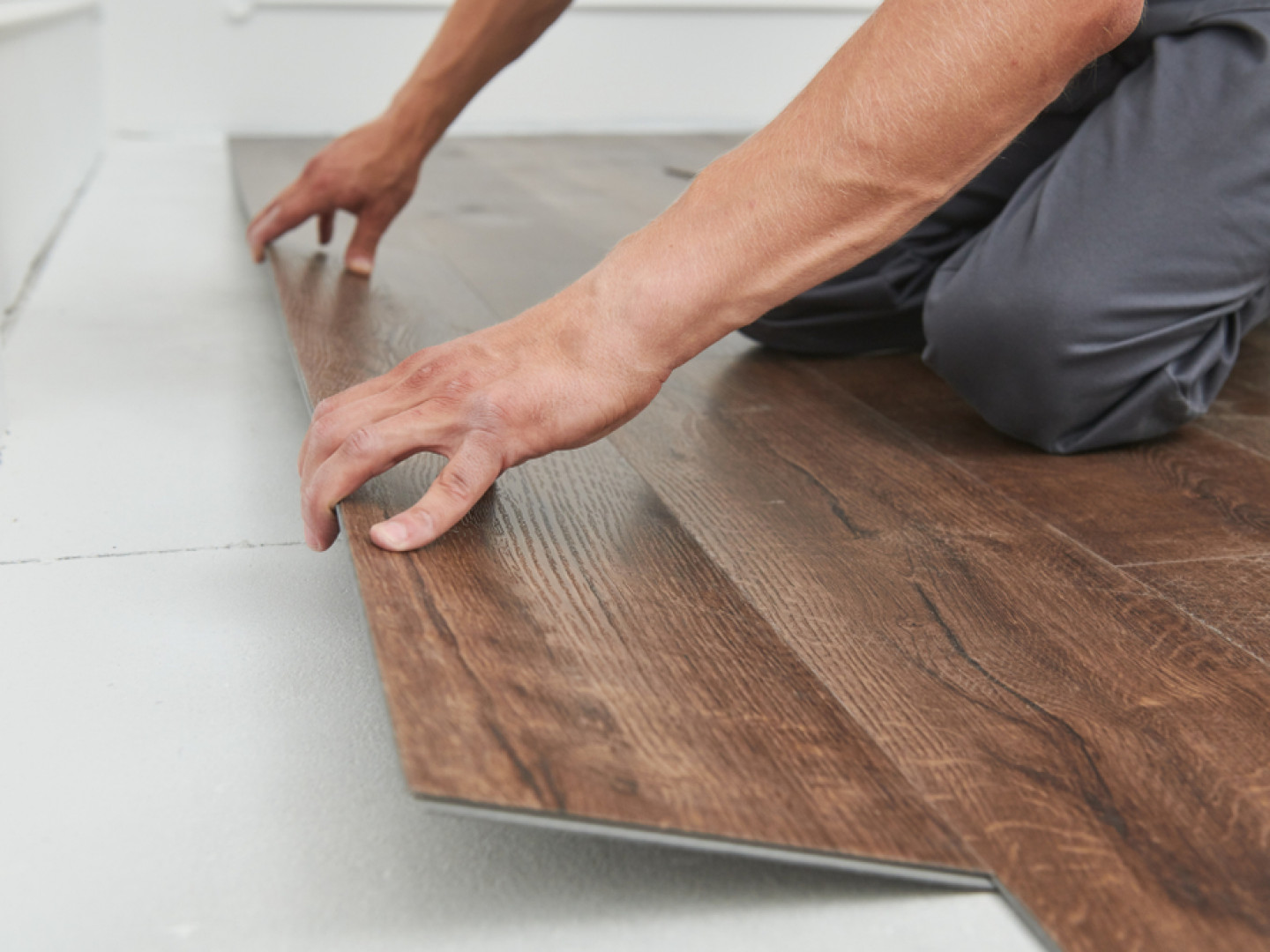 Discover the benefits of click-lock luxury vinyl tile flooring